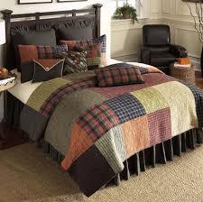 Lodge Plaid Quilt - King &  Adamdwight.com