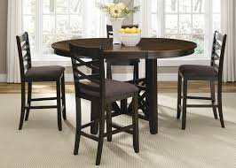 liberty furniture dining table. Liberty Furniture Bistro II Round-to-Oval Single Pedestal Dining Table With 18-Inch Butterfly Leaf | Wayside Tables