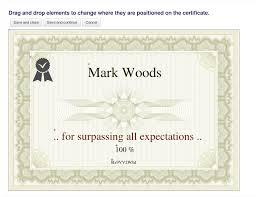 Certificate Moodle Plugins Directory Custom Certificate 23