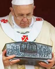 Resultado de imagen para papa y pedro apostol