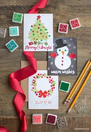 15 DIY Christmas Card Ideas - Easy Homemade Christmas Cards We\u0027re ...