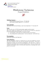 Entry Level Phlebotomist Resume Awesome 28 Phlebotomist Sample