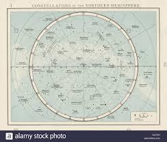Sky Maps Star Chart Constellation Sky Map Stock Photos Constellation Sky Map