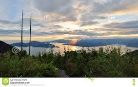 Bowen Lookout at Cypress Mountain Royalty Free Stock Photo