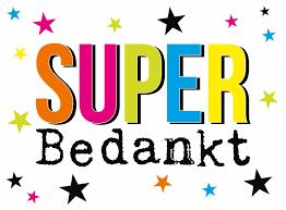 Super bedankt - Snelwenskaart.nl