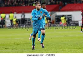 Jordi Alba during the champion league match Bayer Leverkusen - FC ...