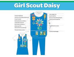 Girl Scout Daisy Vest Size Chart Www Bedowntowndaytona Com