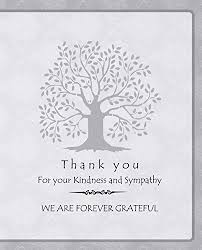 Thank You Note After Funeral To Coworkers 43 Funeral Thank You Note Wording Examples