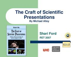 Ppt The Craft Of Scientific Presentations By Michael Alley