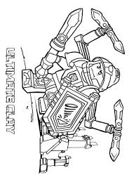 Small Picture Lego Nexo Knight coloring pages Free Printable Lego Nexo Knight