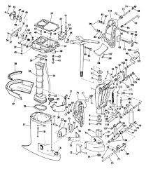 evinrude exhaust housing parts for 1974 85hp 85493b outboard motor reference numbers in this diagram can be found in a light blue row below scroll down to order each product listed is an oem or aftermarket equivalent