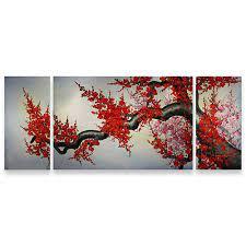 best cherry blossom art asian paintings