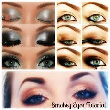 smokey eye makeup tutorial for blue eyes 2017