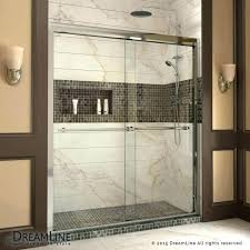 curved sliding shower door with fixed panel enclosure duet to bypass clear 5 p how adjust slid