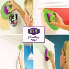 forget messy paint rollers gem painting tool is the quicker easier more precise way to paint any room fast features can paint any wall regardless of the