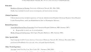 Resume Sample Format Nursing Resume Sample Resume Format For Nursing ...