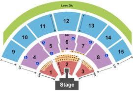 Xfinity Center Tickets And Xfinity Center Seating Charts
