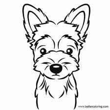 More than 5.000 printable coloring sheets. Free Yorkie Puppy Coloring Pages Puppy Coloring Pages Dog Coloring Page Coloring Pages