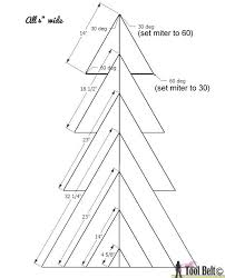 pallet board dimensions. rustic christmas tree-1st layer dimensions 4in corrected pallet board