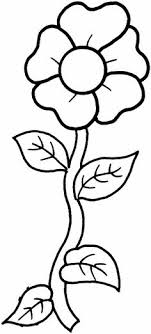 Small Picture Simple Flower Coloring Page Cute Flower Full size sheets
