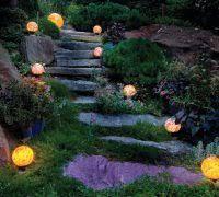 subtle lighting. Philadelphia Subtle Lighting Landscape Rustic With Tree Services Garden Stair