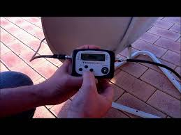 Shaw Direct Satellite Locator Chart Satellite Finder Meter How To Use