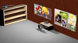 office desk wallpaper. Modern Interior Wall Design Ideas Abstract Office Desks Desktop 1920×1080 Hd Wallpaper 722873 Desk A