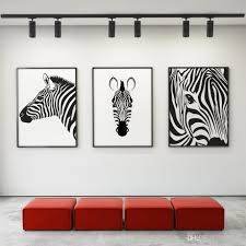 2018 canvas painting nordic black white animal horse wall art canvas poster prints art wall pictures living room home decor from yong518 16 09 dhgate  on cheap black and white canvas wall art with 2018 canvas painting nordic black white animal horse wall art canvas