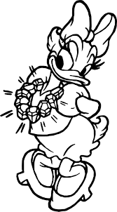 Small Picture Daisy Duck Diamond Coloring Page Wecoloringpage