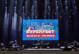Bayou Country Superfest Seating Chart 2016 Going To Bayou Country Superfest Sunday Heres Info On Show