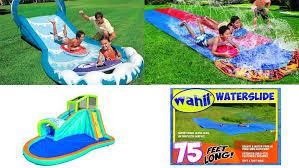 Backyard Water Slides Kids  Home DesignWater Slides Backyard