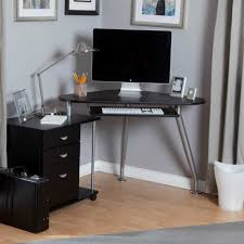 glass form furniture. unique modern desks for small spaces having free form glass top black corner computer desk u2013 executive home office furniture