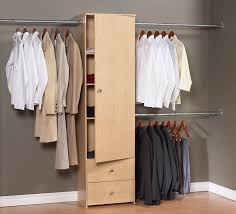 closet organizer hanging rack stand alone coat closet