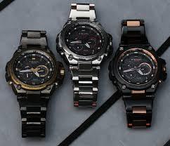 solar powered satellite enabled gshock watch watches casio g shock mt g mtg s1000 1 000 metal watches hands on