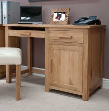 wood office desk. Elegant Design Of The Wood Office Desk With Young Brown Wooden Color Materials Added White