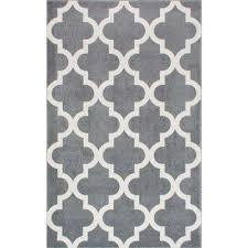 meeker trellis grey 4 ft x 6 ft area rug