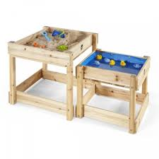 plum wooden sand water tables