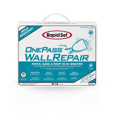 exterior joint compound. one pass wall repair and setting-type joint compound exterior e