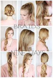 Diffrent Hair Style signature brides hair and makeup 9 ways to incorporate braids 5909 by wearticles.com