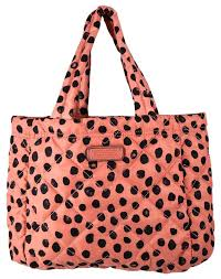Marc by Marc Jacobs Crosby Two-tone Spotted Quilted Nylon Pink ... & Marc by Marc Jacobs Crosby Two-tone Spotted Quilted Nylon Pink Polyester  Tote - Tradesy Adamdwight.com
