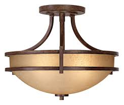 oak valley collection 18 wide ceiling light fixture semi flush mount ceiling light fixtures com