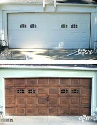 how much to paint garage door faux wood garage door tutorial by prodigal pieces hammerite garage how much to paint garage door