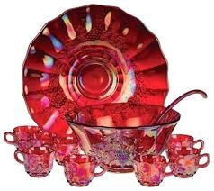glass punch bowl set glass punch bowl set 3 options red vintage anchor hocking milk glass glass punch bowl set