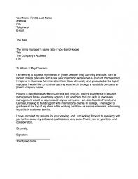 How Cover Letter For Job You Start Advisory Sample And Examples