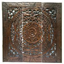 wood carved wall decor decorative art target white
