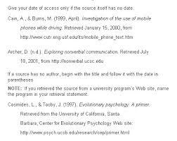 Mla Website Citation Citation Control Mla Citation Website Cornell School
