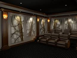 home theater acoustic panels. home theater featuring our original art call \ acoustic panels