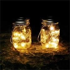Mason Jar Twinkle Lights Amazon Com Outtop Tm 6pcs Solar String Lights 20led Mason