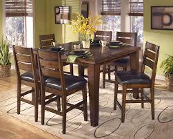 cozy furniture brooklyn. Larchmont Cozy Butterfly Leaf Pub Table Signature Design By Ashley Furniture Brooklyn