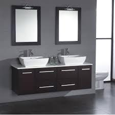dual sink vanity. Cambridge 63 Inch Solid Wood Porcelain Double Sink Vanity Set Regarding Dual Decor 1 O